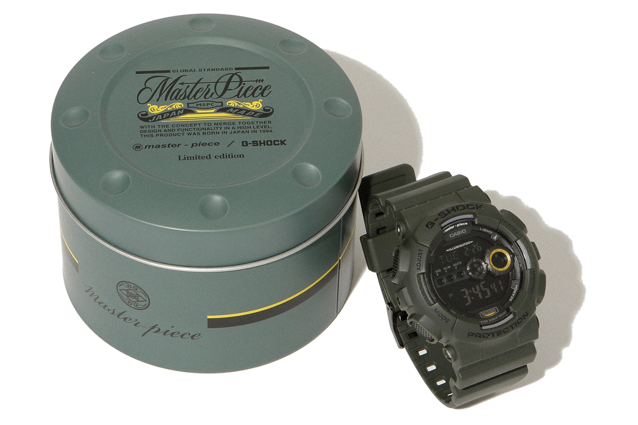 Image of master-piece x Casio G-Shock GD100MS