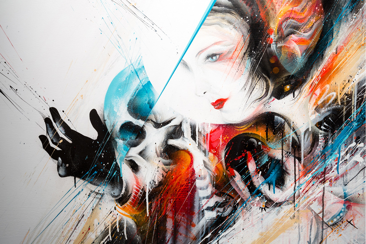 "Image of MEGGS ""Heavenly Creatures"" Exhibition Recap @ Thinkspace"