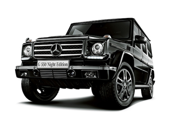 "Image of Mercedes-Benz G550 ""Night Edition"" Japan Exclusive"