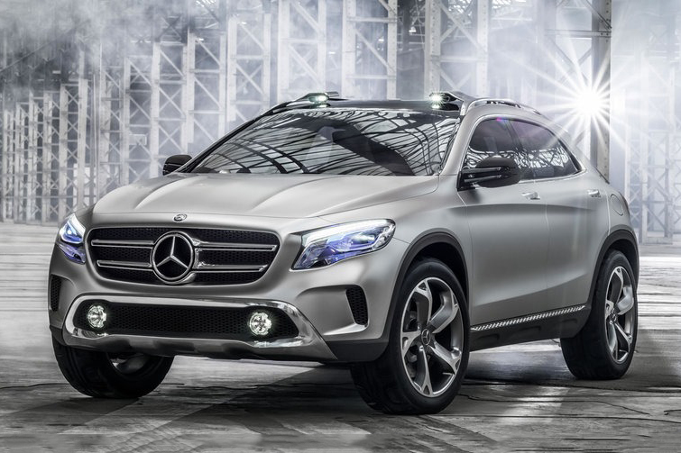 Image of Mercedes-Benz GLA Concept