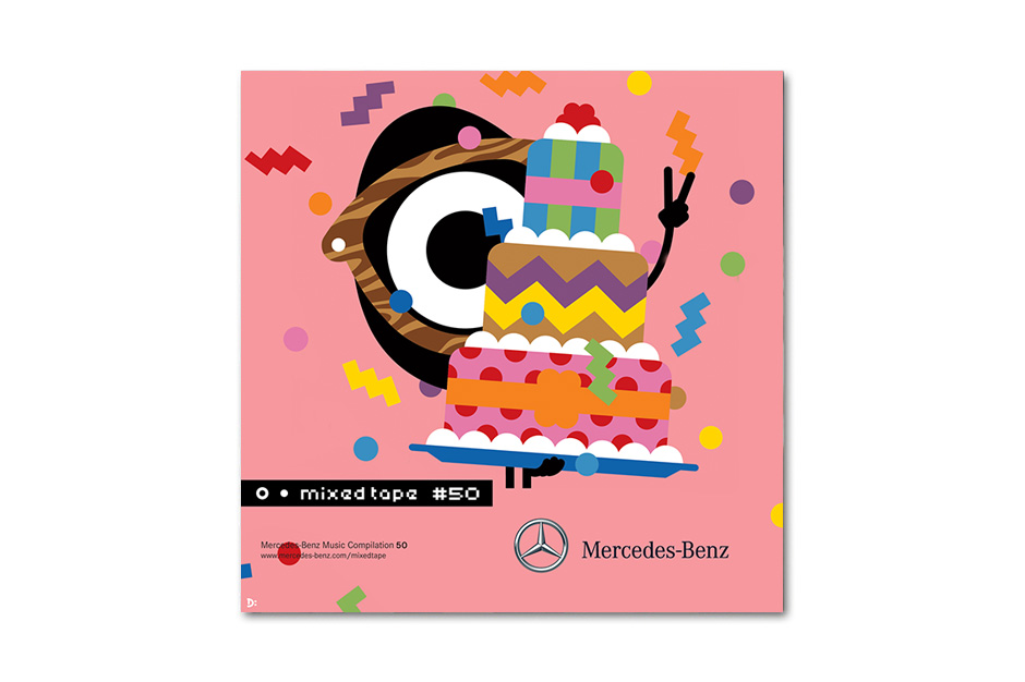 Image of Mercedes-Benz Mixed Tape 50th Anniversary Campaign with Darcel Disappoints!