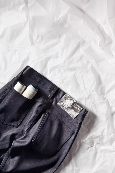 "Image of Naked & Famous Indigo Weird Guy ""Paper"" Denim *HYPEBEAST Exclusive"