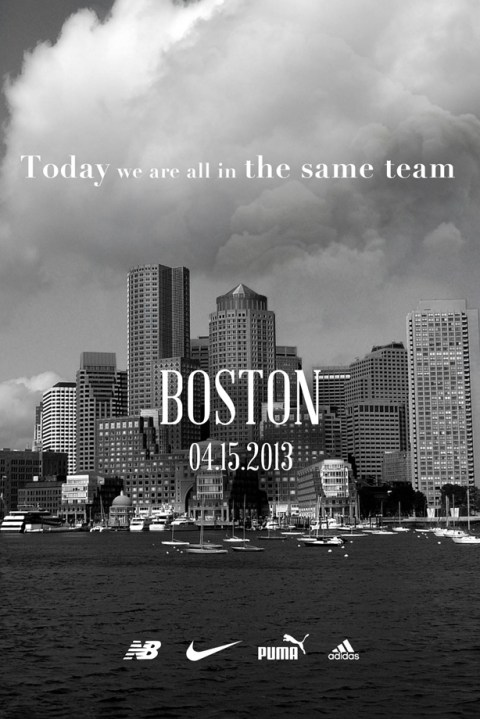 Image of UPDATE: Nike, adidas, New Balance and PUMA Team Up for Boston