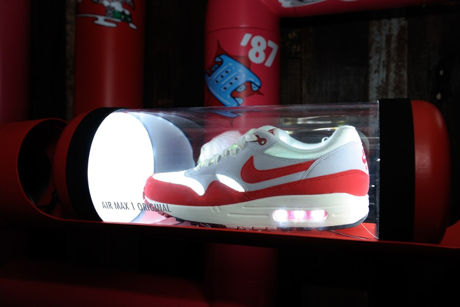 "Image of Nike Air Max 1 Engineered Mesh ""Air Reinvented"" Event @ JUICE"