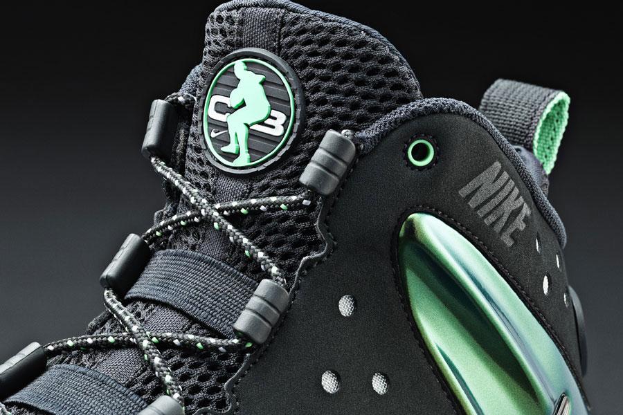 Image of Nike Barkley Posite Max Metallic Green/Black