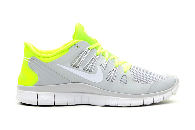 Image of Nike Free 5.0+ Breeze Volt/Pure Platinum