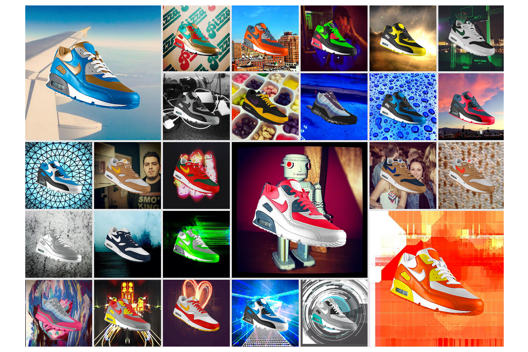 Image of Nike Introduces PHOTOiD: NIKEiD for Instagram