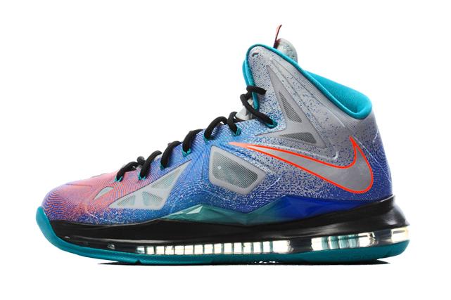 "Image of Nike LeBron X ""Pure Platinum"""