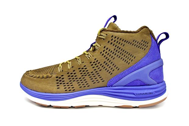 Image of Nike Lunar Chenchukka QS Dark Khaki/Violet Force