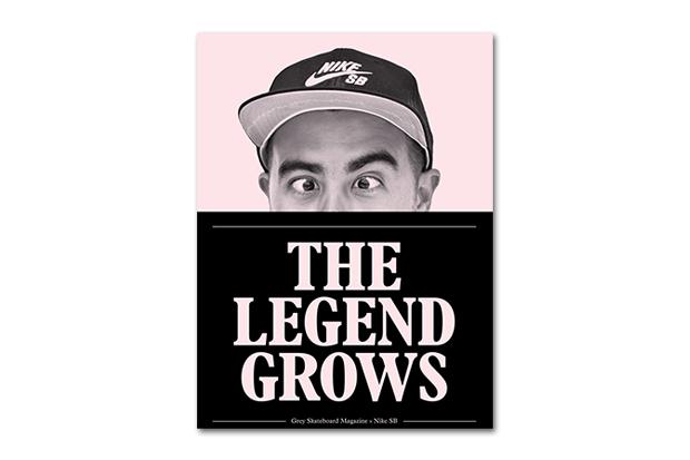 "Image of Nike SB x Grey Skateboard Magazine ""The Legend Grows"" Zine"