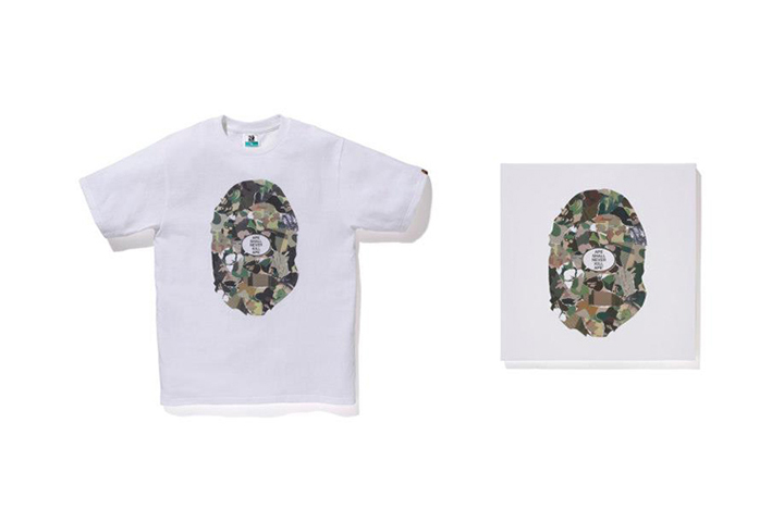 Image of NOWHERE / A Bathing Ape 20th Anniversary Collaborations with Kanye West, Pharrell, Futura & More