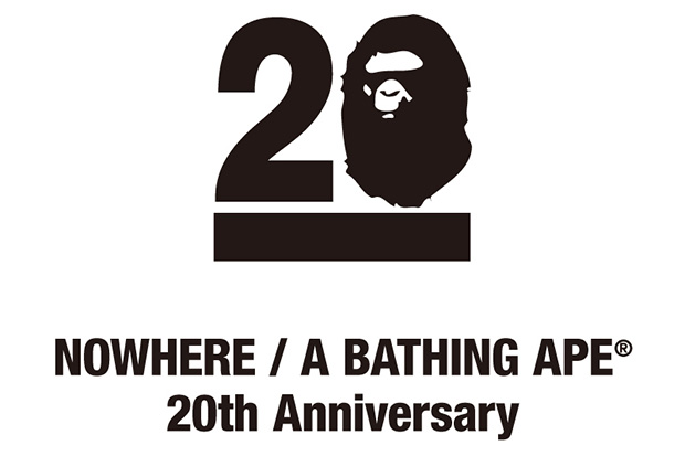 Image of NOWHERE / A Bathing Ape's 20th Anniversary to Feature Collaborations with Kanye West, Pharrell, Futura and More