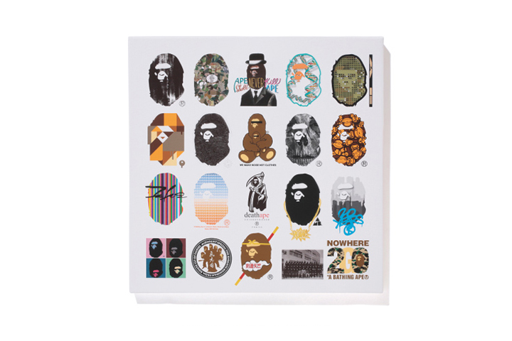 Image of NOWHERE / A Bathing Ape 20th Anniversary Limited Canvas and T-Shirt