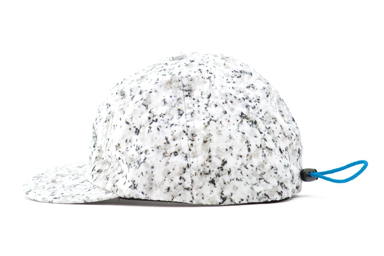 Image of Patrik Ervell 2013 Spring/Summer Black & White Granite Print Sport Cap