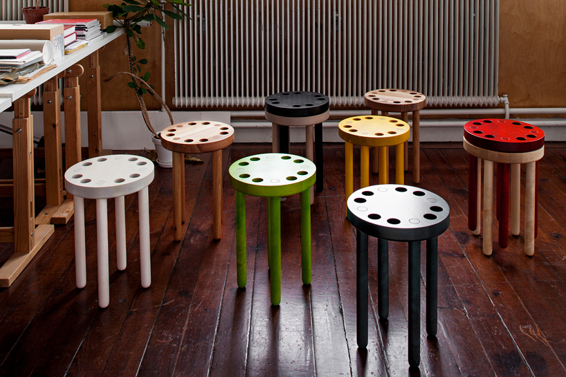 Image of Poke Stools by Kyuhyung Cho for SNICKERIET