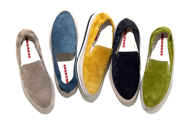 Image of Prada 2013 Spring/Summer Espadrille Topsider Slip-Ons