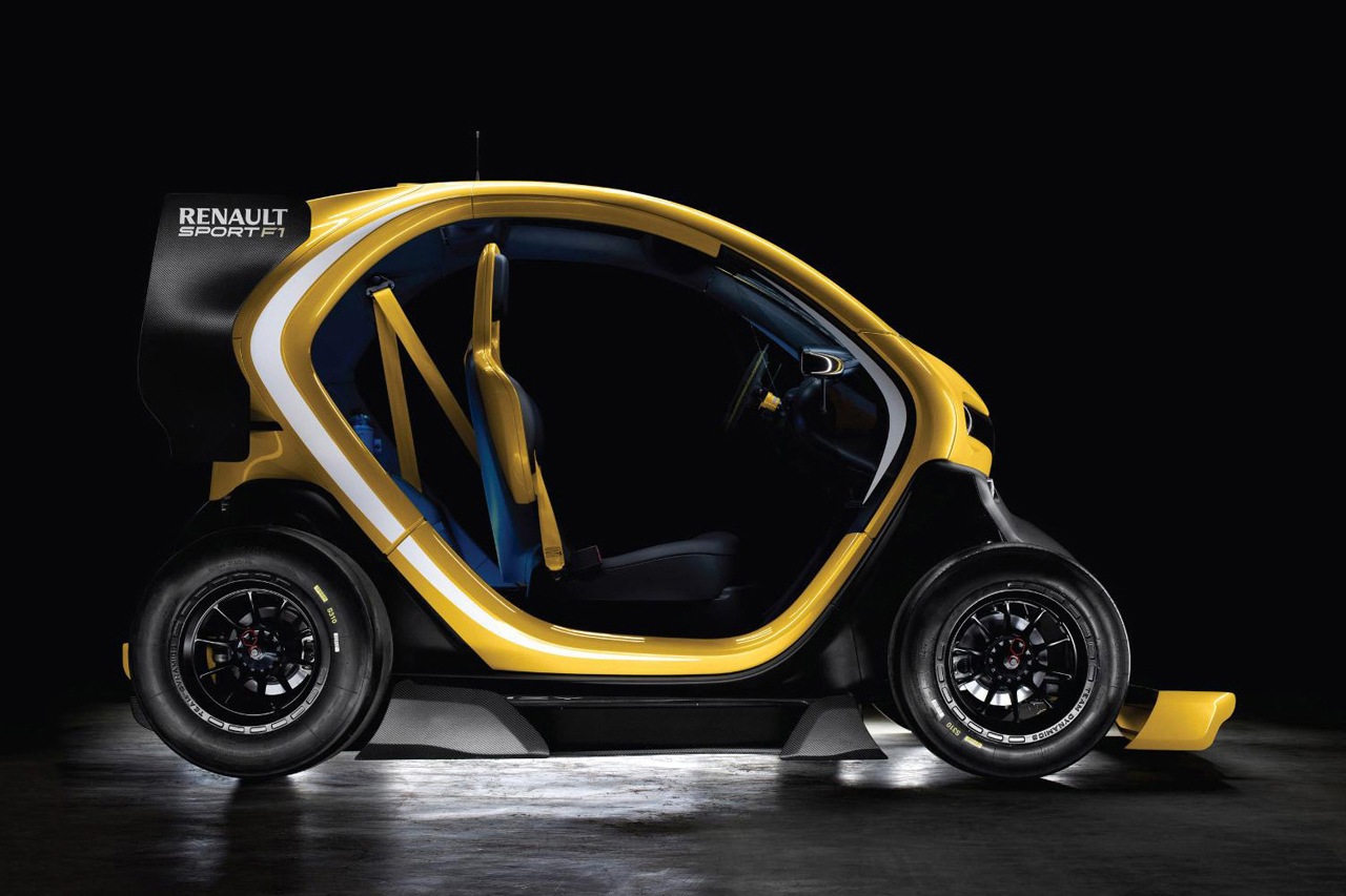 Image of Renault Twizy Sport F1 Electric Concept