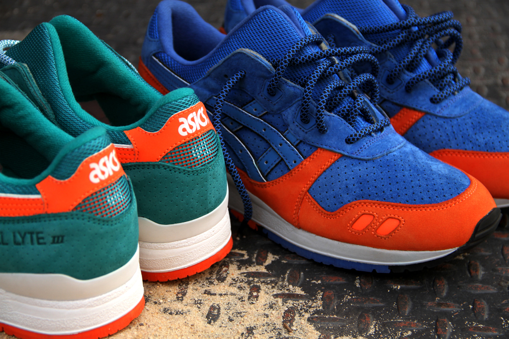 "Image of Ronnie Fieg x ASICS Gel Lyte III ""New York City"" & ""Miami Beach"" Collection"