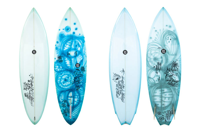 Image of S/Double x Thomas Campbell Surfboard Collection