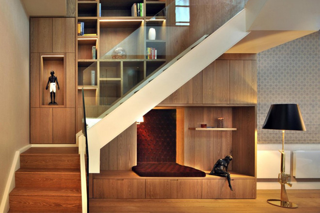 Image of St. Pancras Chambers Penthouse Apartment by TG-Studio