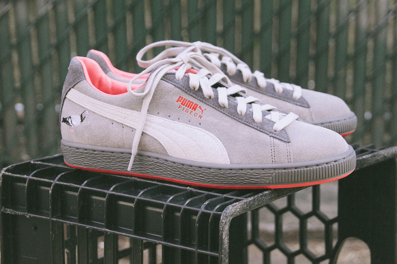"Image of Staple x PUMA Suede ""Pigeon"""