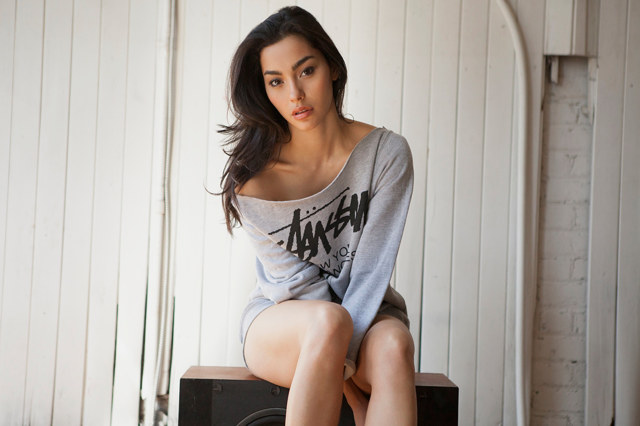 Image of Stussy 2013 Spring/Summer Lookbook featuring Adrianne Ho