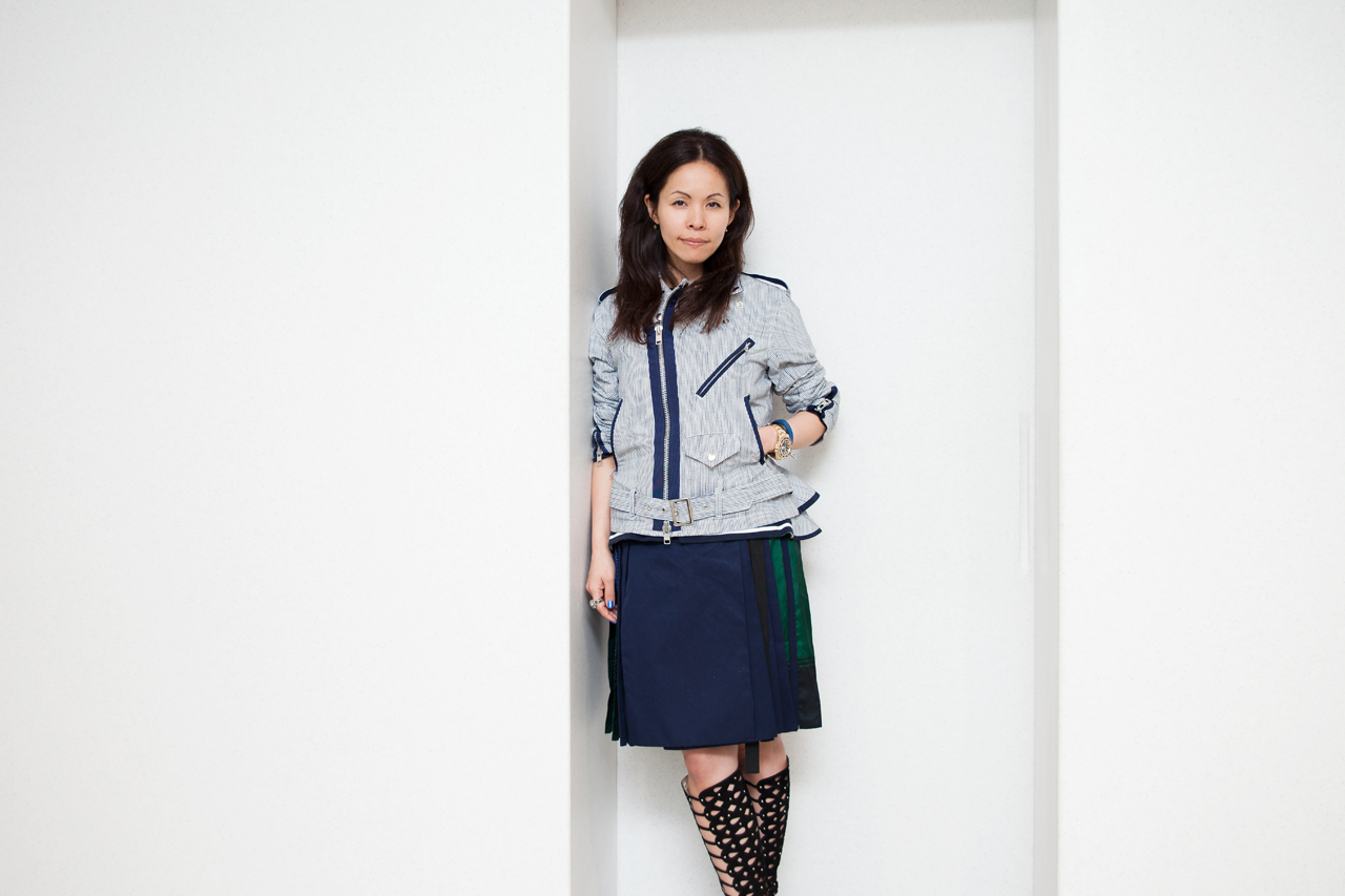 Image of The Merging of Masculine and Femine Styles with Ms. Chitose Abe of Sacai