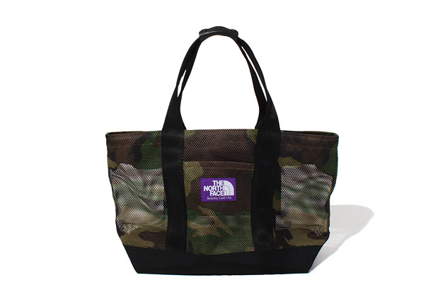 Image of THE NORTH FACE PURPLE LABEL 2013 Spring/Summer Camouflage Mesh Bag Collection