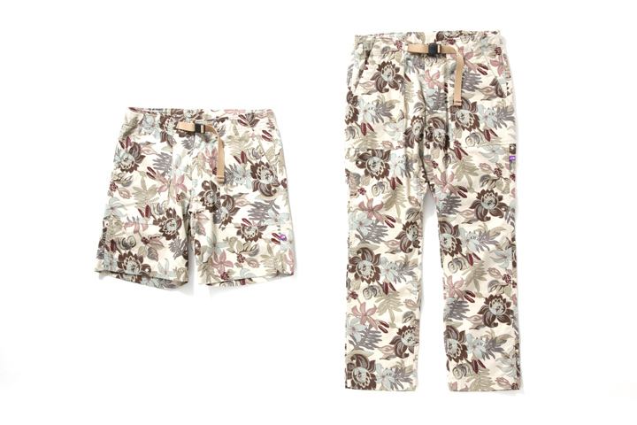 Image of THE NORTH FACE PURPLE LABEL 2013 Spring/Summer Vintage Nylon Taffeta Print Collection