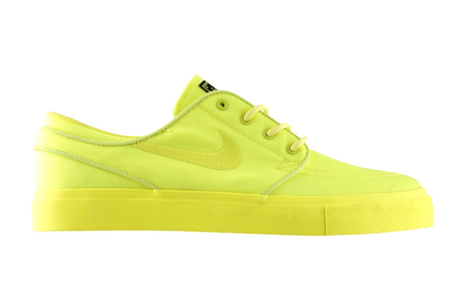 "Image of Three Squares Studio x Nike SB Zoom Stefan Janoski ""Lemon Twist"""