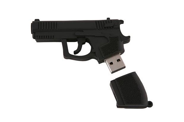 Image of USBGeek AK-47 & Handgun USB Drives