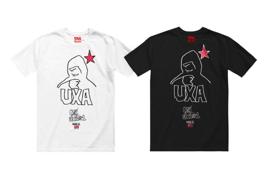 "Image of UXA x Mark Gonzales ""Mutiny"" Artist collection"