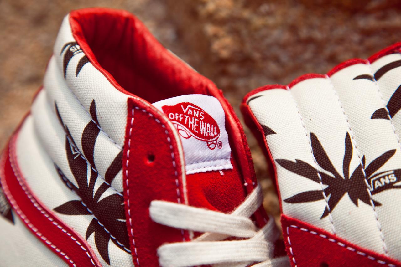 Image of Vans Vault OG Sk8-Hi LX Palm Leaf