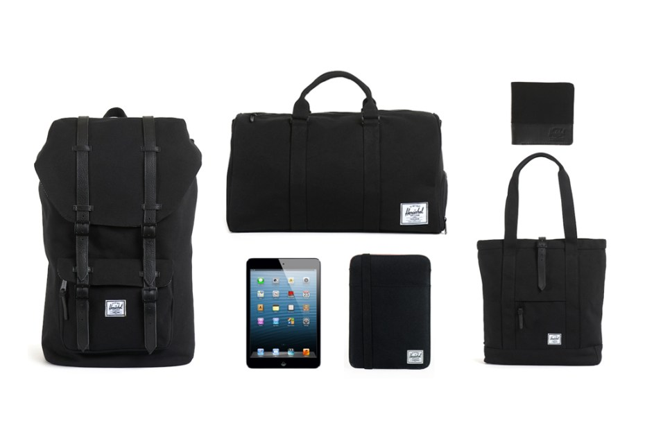 Image of Winner Announcement! Win an iPad mini and Weekend Travel Kit from Herschel Supply Co.!