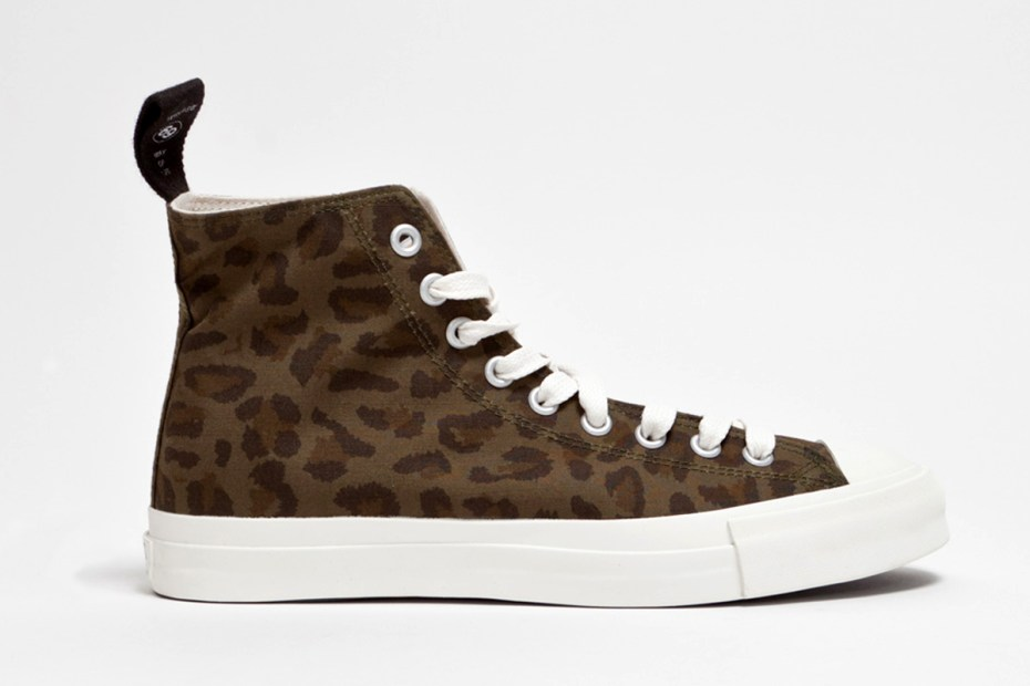 Image of WTAPS 2013 Spring/Summer LEOPARD SNEAKER. COTTON. RIPSTOP.