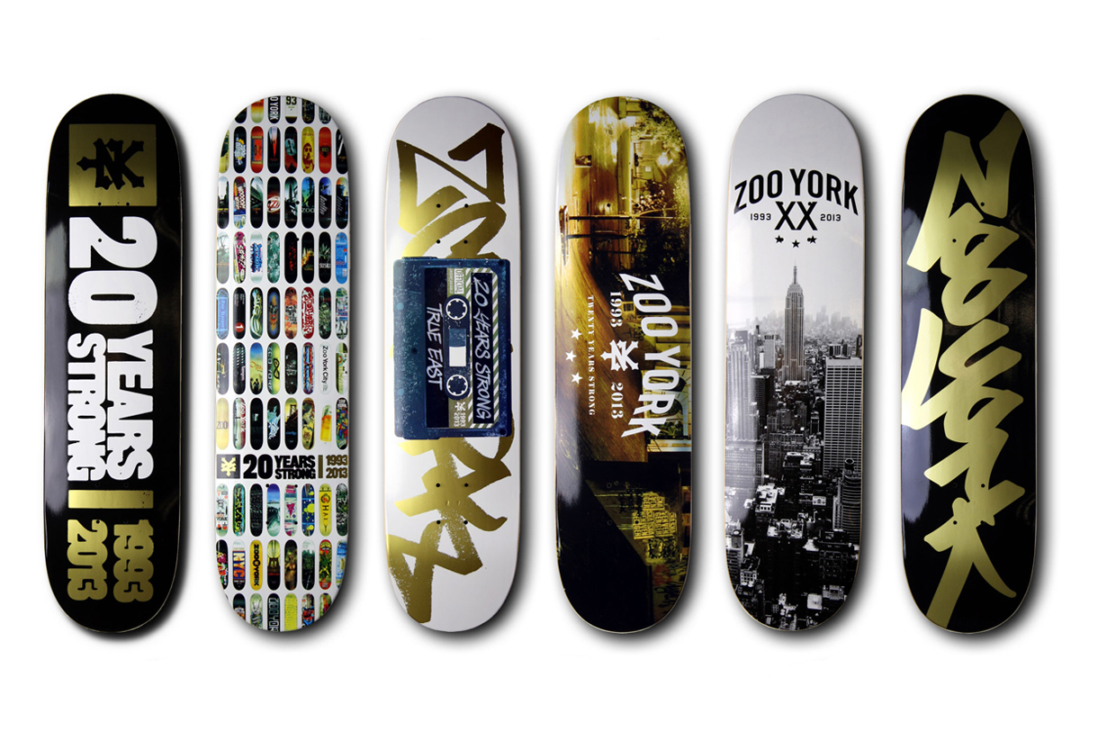 Image of Zoo York 20th Anniversary Collection