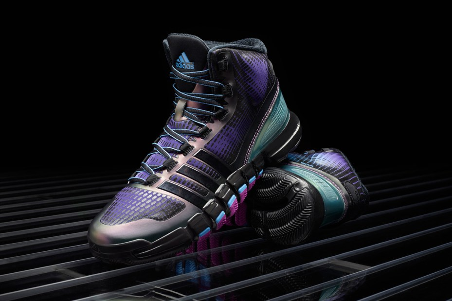 Image of adidas Crazyquick Black/Purple/Teal
