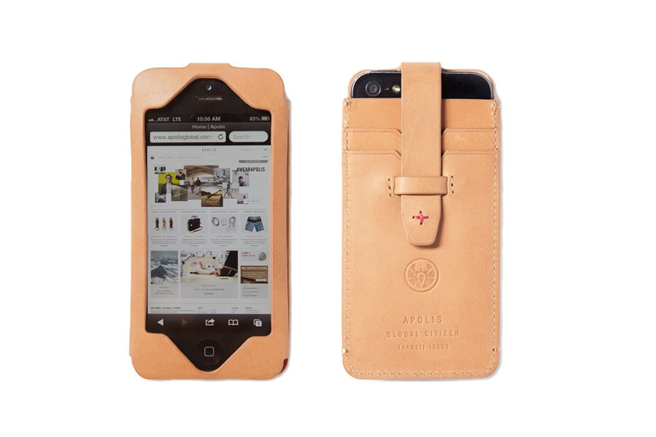 Image of Apolis Transit Issue iPhone Wallet