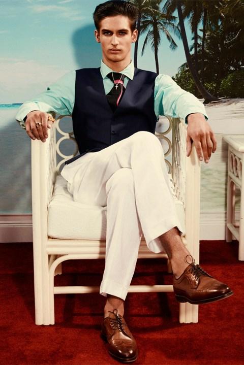 "Image of Arena Homme+ Magazine 2013 Spring/Summer ""Ralph Lauren Riviera"" Editorial"