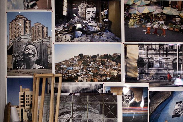 Image of Artsy Takes Us Inside JR's New York Studio