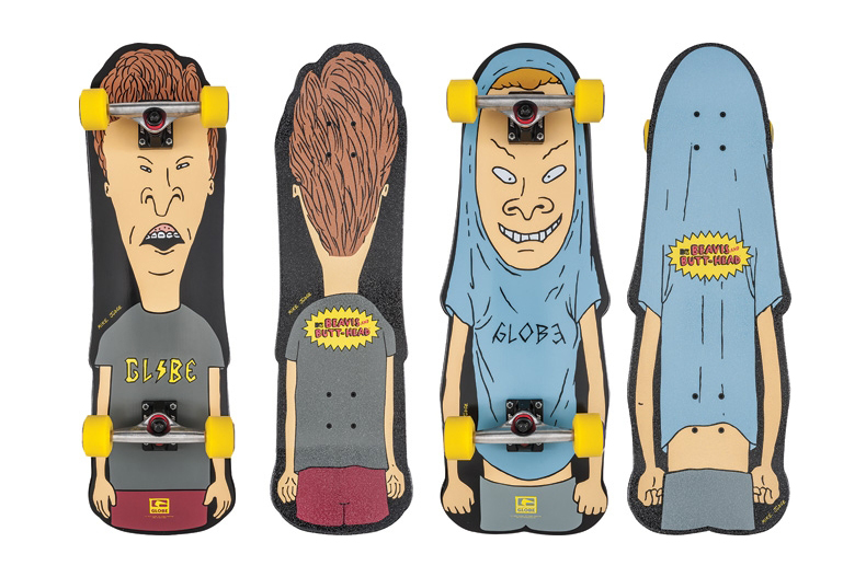 Image of Beavis and Butt-Head x Globe 2013 Spring Collection