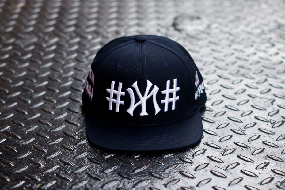 """Image of Been Trill x 40 oz NYC Navy """"#NY#"""" Snapback Kith Exclusive"""