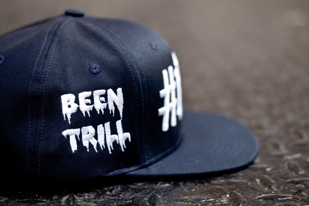 "Image of Been Trill x 40 oz NYC Navy ""#NY#"" Snapback Kith Exclusive"