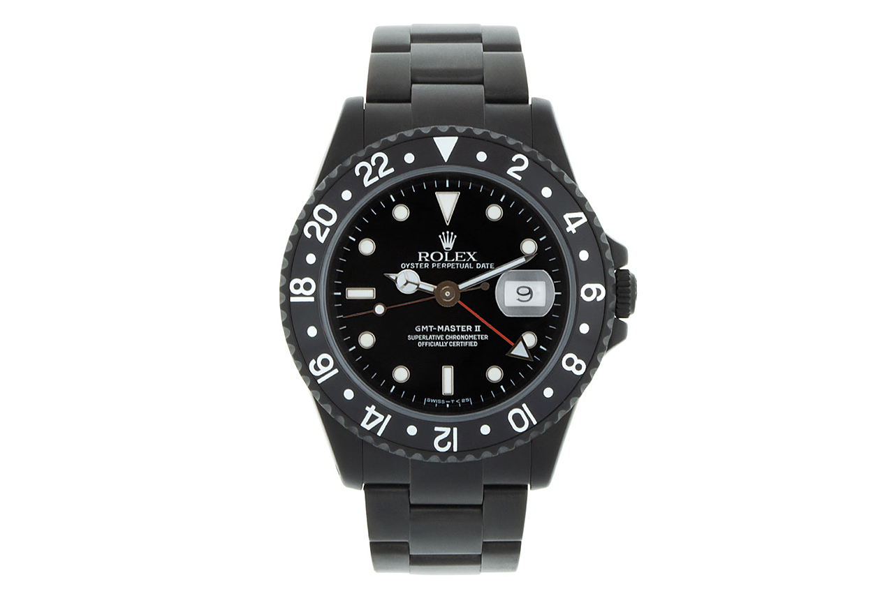 Image of Black Limited Edition by Alejandro Alcocer Rolex GMT Master II