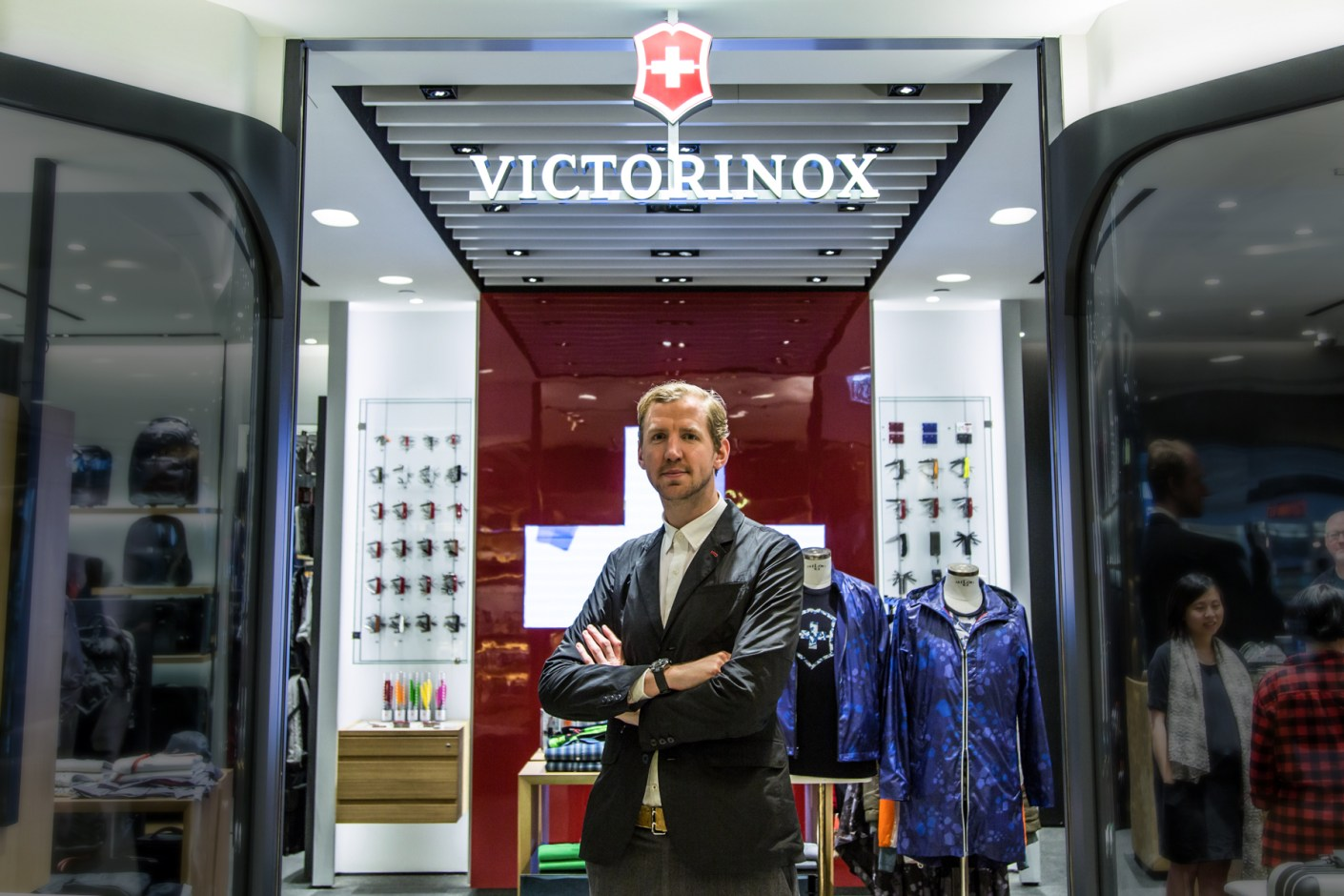 Image of Christopher Raeburn Discusses Functionality and Sustainablity in Fashion and His Role at Victorinox