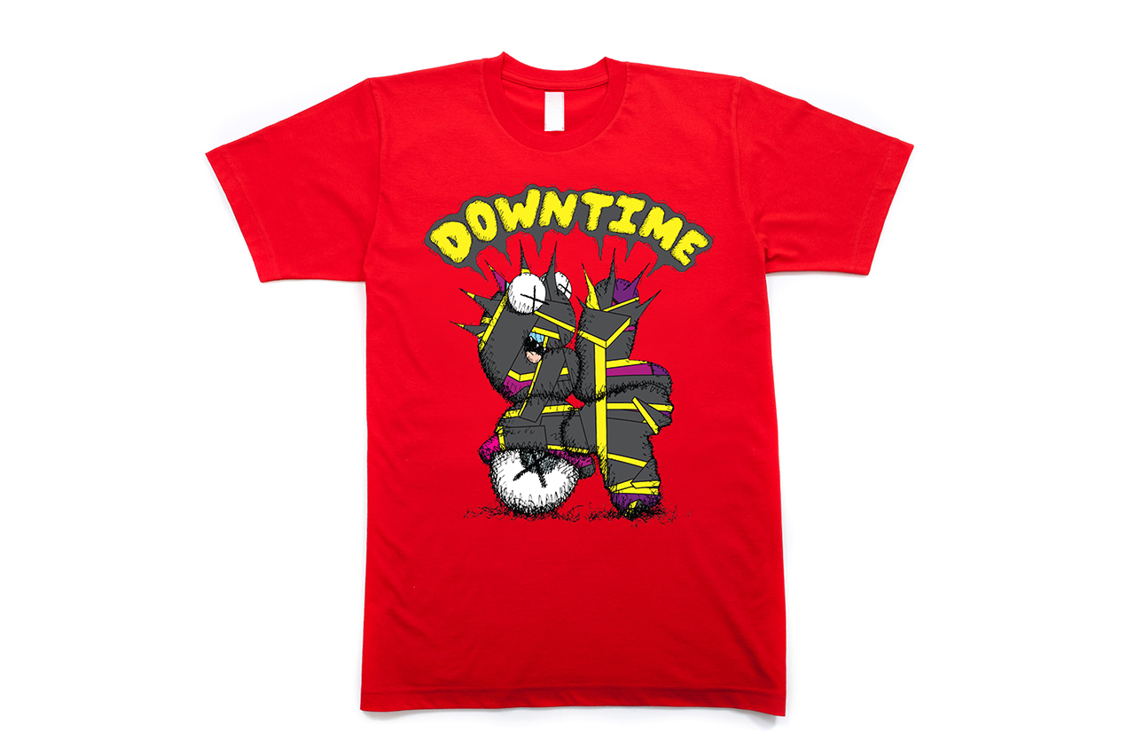 "Image of KAWS x CLOT ""DOWN TIME"" T-Shirt"