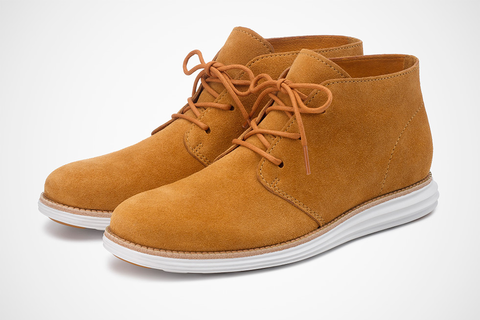 Image of Cole Haan LunarGrand Kudu Suede Collection