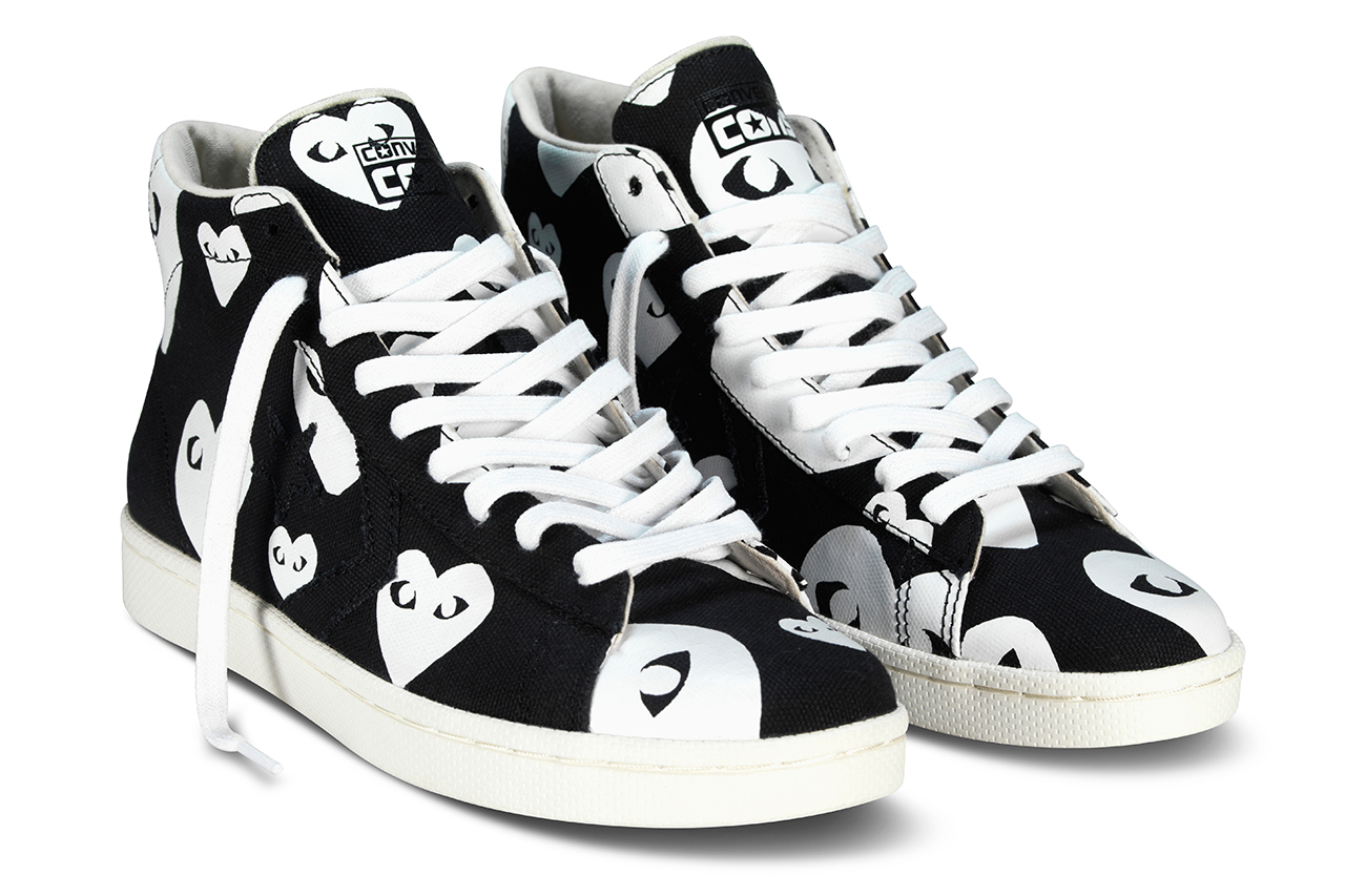 Image of COMME des GARÇONS PLAY for Converse Pro Leather 2013 Collection