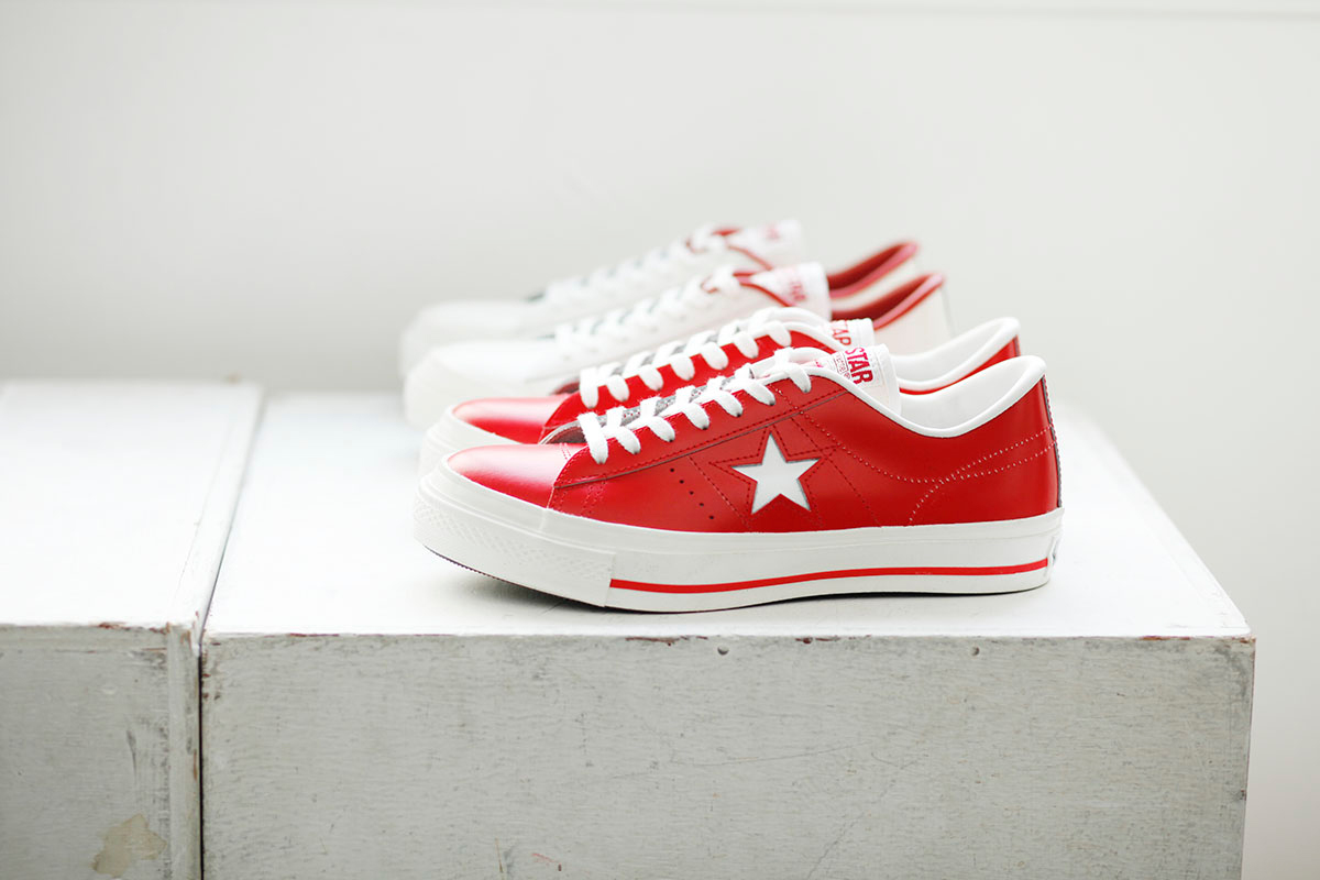 """Image of Converse One Star J Red """"Made In Japan"""""""