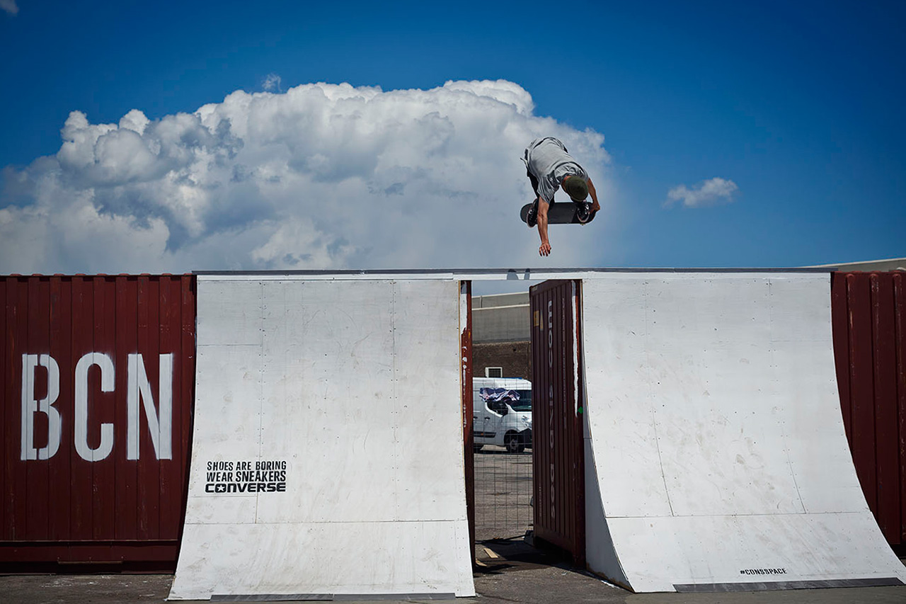 Image of Converse Skateboarding Takes Over Barcelona with CONS SPACE 001 BCN